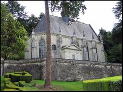 Renaissance chapel at Château Ussé