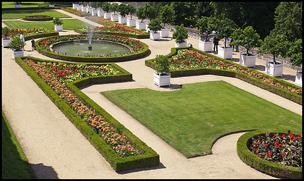 Gardens at Château Ussé