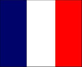 Flag di design francese