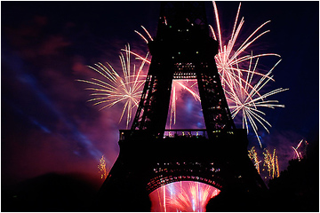 Bastille Day at the Eiffel Tower
