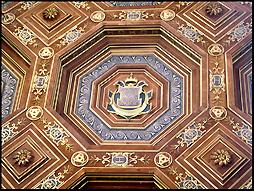 Ceiling at Château Fontainebleau