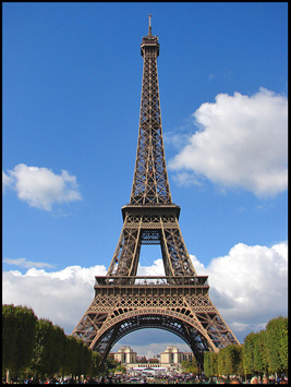 Famous French Monuments, Eiffel Tower