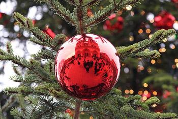 French holidays Christmas ball