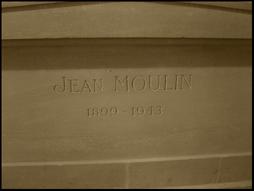 Grave of Jean Moulin in  le Pantheon, Paris