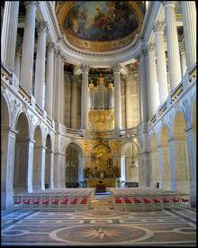 Palace of Versailles Royal Chapel