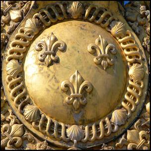 Gold detail at Palace of Versailles
