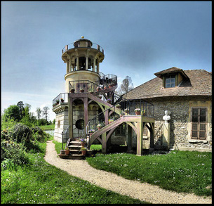 The Queen's hamlet at the Palace of Versailles