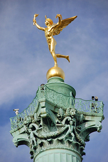 Place de la Bastille, Winged Spirit of Victory